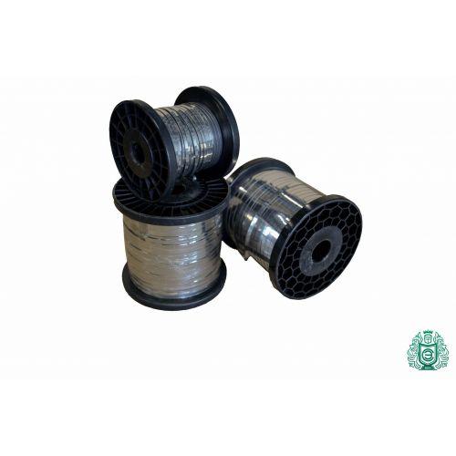 Banda de acero inoxidable Banda de chapa Alambre plano 0.3x0.6mm V2A 1.4301 304 Alambre calefactor de cinta, acero inoxidable