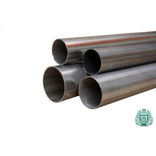 Tubo de acero inoxidable Ø 50x1,2-65x1mm 1,4828 tubo redondo 309 V2A barandilla de escape 0,25-2 metros, acero inoxidable