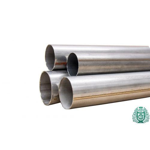 Tubo de acero inoxidable Ø 16x2.6mm a 114.3x3mm 1.4571 tubo redondo 316Ti V4A barandilla 0.25-2 metros, acero inoxidable