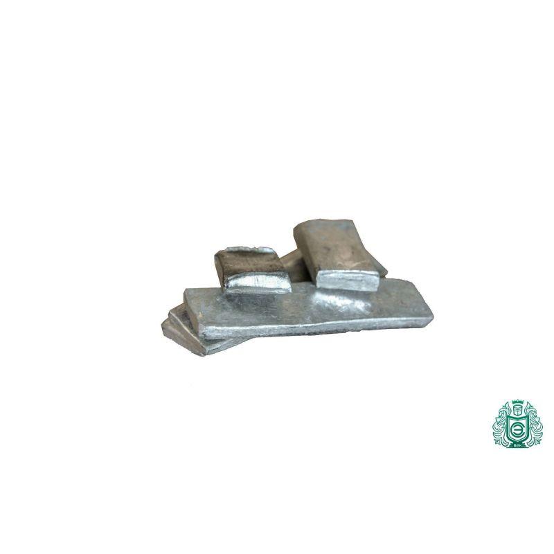 Lingote de indio 99,99% de 1 gramo a 5 kg de lingote 49 metal puro In (49), Metales raros