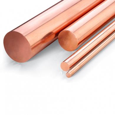 Barra de cobre. Principales áreas de aplicación y propiedades